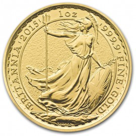 1/2 oz Britannia Gold 2015