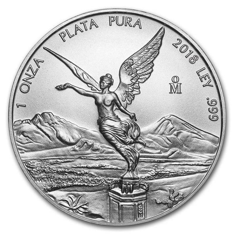 1 Unze Silber Mexiko Libertad 2018