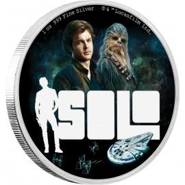 1 Unze Silver Solo - A STAR WARS STORY™