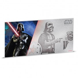 1$ 2018 Niue   5 g Silber STAR WARS™ - Darth Vader MÜNZNOTE - A NEW HOPE