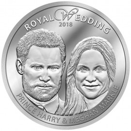 Silber ROYAL WEDDING - 19. MAI 2018  PRINZ HARRY & MEGHAN MARKLE