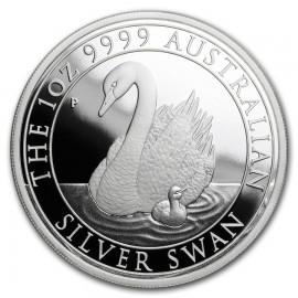 1 Unze Silber Schwan Perth Mint 2018 PP