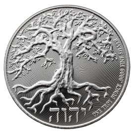 1 Unze Silber Niue Tree of Life 2018