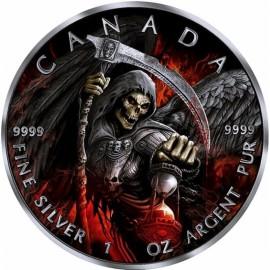 1 Unze Silber Grim Reaper Sensenmann ARMAGEDDON II 2017 Rhutenium