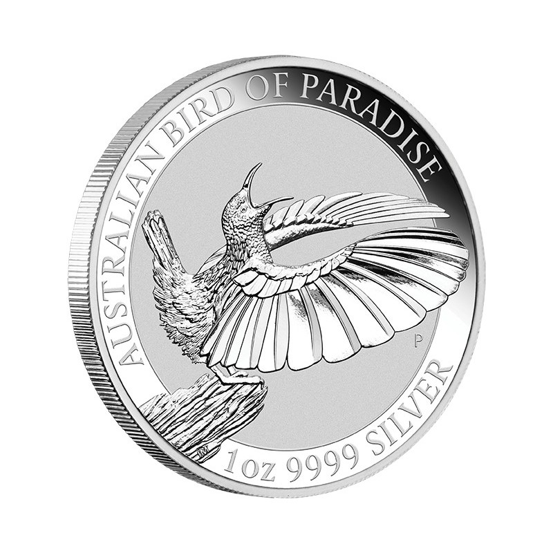 1 Unze Silber Birds of Paradise Perth Mint 2018
