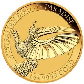 1 oz Gold Birds of Paradise
