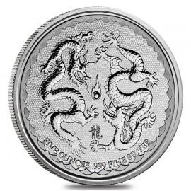 1 oz silver dragon