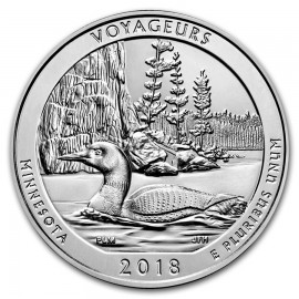 5 Unze Silber America The Beautiful ATB  Voyageurs National Park, MN  Minnesota