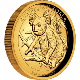 1 oz Koala Gold 2018 High Relief