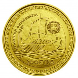 200 Euro Gold 2018 Herodot  Griechenland in PP