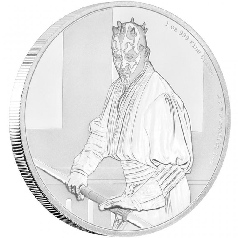 1 Unze Silber Darth Maul Star Wars Niue