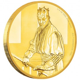 1/4 oz Darth Maul Star Wars  PP  Gold 2018