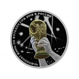1 Unze Silber 3 Rubel Fifa PP 2016