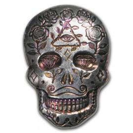 Skull  2 oz Silver 99,9%