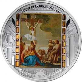 3 unzen  Silber GIAMBATTISTA TIEPOLO CHRIST DEATH 20$ Cook Islands 2018