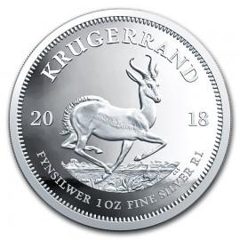 1 Unze Silber Krügerrand 2018   PP
