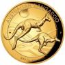 1 oz Gold Känguru Nugget 2018 PP