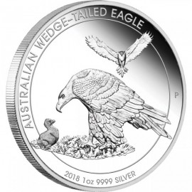 1 Unze Silber Wedge-Tailed Eagle PP 2017
