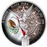 5 Unzen Silber Mexiko Libertad 2018 Aztekenkalender