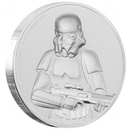 2 Unze oz   Silber  STAR WARS™ - Stormtrooper  PP  Ultra High Relief