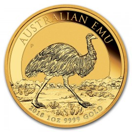 1 oz Unze Gold  Emu Perth Mint 2018