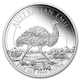 1 Unze Silber Emu Perth Mint 2018