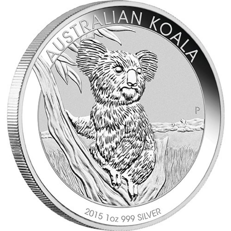 1kg Silber Koala 2015