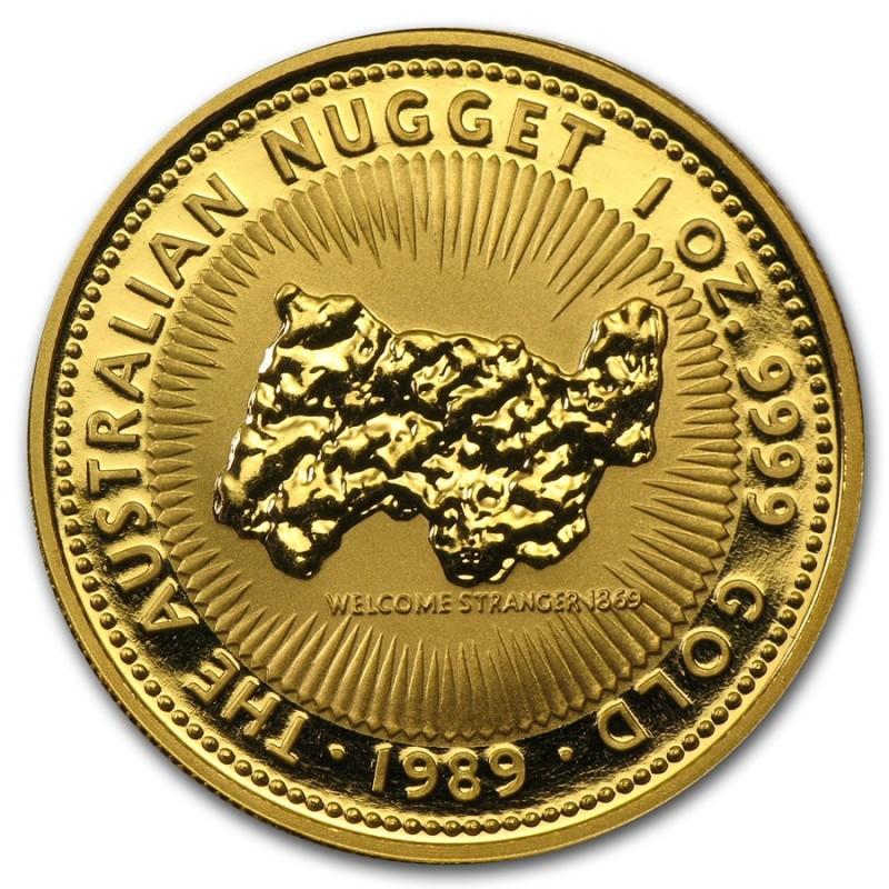 1 Unze Gold Känguru Nugget
