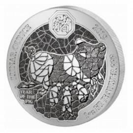 1 oz Ruanda 2019 Silver