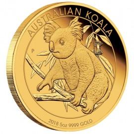 5 oz Koala Gold 2087 PP nur 50 Stück