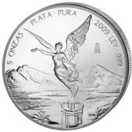 1 Kg Silber Mexiko Libertad 2009