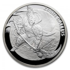 1 oz Unze  Silber Südkorea South Korea Gallus  2017 PP 1 Clay