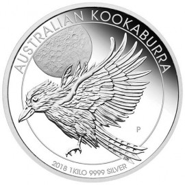 1 kg  Silber Australien Kookaburra 2018 PP