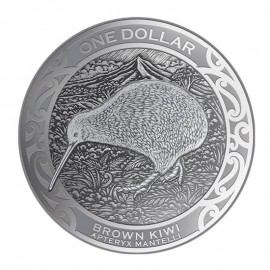 1 unze Silber Kiwi 2019  Blister