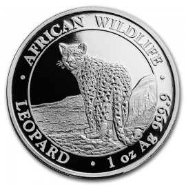 1 Unze Silber Somalia Leopard 2018