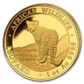 1 oz Somalia Leopard Gold 2018