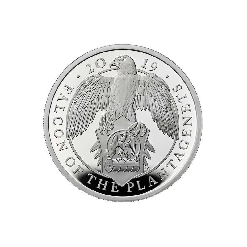 1 Unze Silber Queens Beasts Falcon 2019 PP