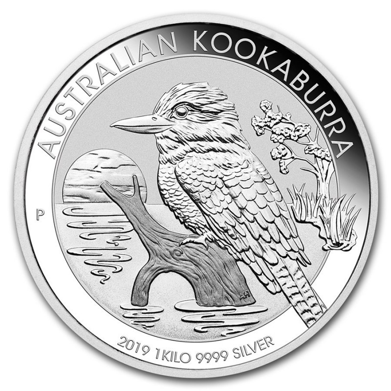 1 kg  Silber Australien Kookaburra 2019
