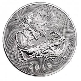 10 Unzen Silber Valiant 2018 Großbritannien BU
