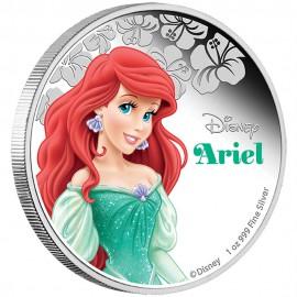 1 Unze Silber Ariel Disney Nieu