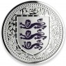 1 Unze oz silber 2018 three Lions Royal Arms of Britain Gibraltar Purple  500 Stück