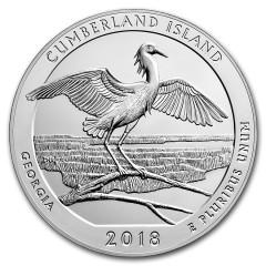 5 Unze Silber 2018 5 oz Silver ATB Cumberland Island National Seashore, Georgia
