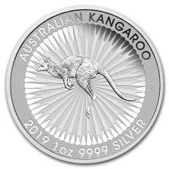 1 oz Kangaroo Nugget  2019 Silver