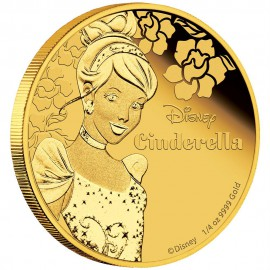 1/4 oz Cinderella  PP  Gold 2015 Perth Mint