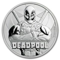 1 Unze Silber Deadpool 2018 Tuvalu