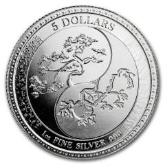 1 Unze Silber   Equilibrium  Tokelau 2018