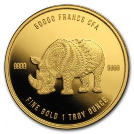 1 oz Unze Gold Löwe Mandala 100 Stk. 2018  50000 CFA