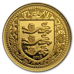1/5 Unze oz Gold 2018 three Lions Royal Arms of Britain Gibraltar
