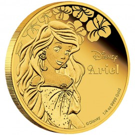 1/4 oz Ariel  PP  Gold 2015 Perth Mint