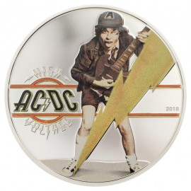 1/2 Unze Silber Cook Islands  AC/DC High Voltage